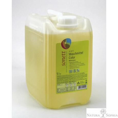 Sonett Folyékony mosószer színes ruhához - menta és citrom 5 liter