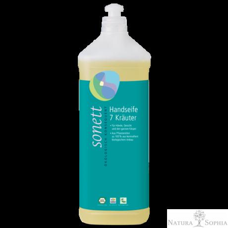 Sonett Folyékony szappan - hét gyógynövényes 1 liter