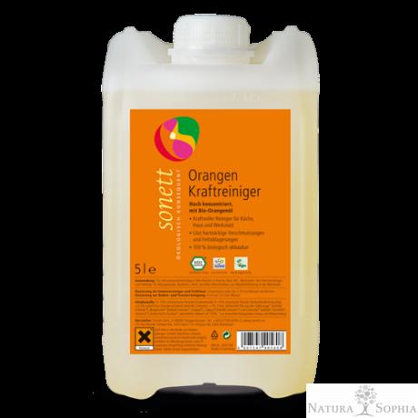 Sonett Zsíroldó tisztítószer - narancsolajos 5 liter