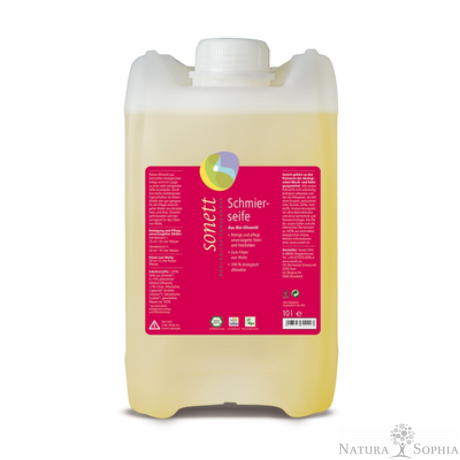 Sonett Padlótisztító-kenőszappan (puha szappan) 10 liter
